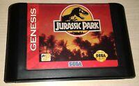 Jurassic Park Sega Genesis Vintage classic original retro game Cartridge