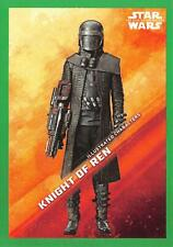 Star Wars Rise Skywalker Series 1 GREEN PARALLEL CHARACTER Insert Card IC-17