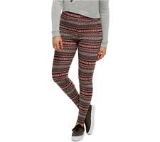Bethany Mota Pull-On Fair Isle Jacquard Knit Leggings Size M Fair Isle Color