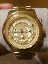 Unisex MK gold watch brand new MK8077