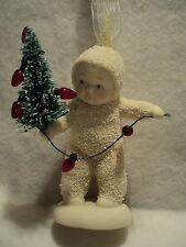 """Snowbabies """"LIGHTING THE TREE"""" Ornament ~ NEW ~ Darling ~ MIB"""
