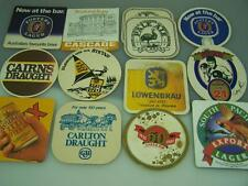 Assortment Beer Advertising coasters Cairns KB Lager XXXX Carlton Emu 1255