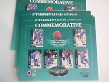 1X QUEBEC NORDIQUES 1993 Parkhurst ARENA TOUR SHEET Serial #d x/22000 Lots Avail