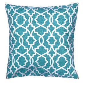 Decorative Handmade Wool Geometric Pattern 50x50 Cm Cushion Cover