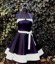 Petticoat Rockabilly Konfirmation Jugendweihe Abiball,Abend Kleid Dress nach Maß