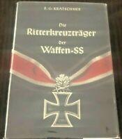 Die Ritterkreuztrager der Waffen-SS, German Text, $39.00!!