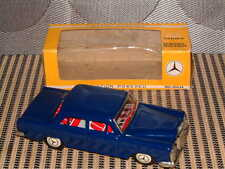 RARE NOS ICHIMURA TIN MERCEDES BENZ 250 SE W/FUNCTIONING FRICTION DRIVE & BOX!