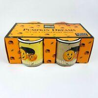 Sakura PUMPKIN DREAMS WARREN KIMBLE Halloween Mugs Black Cat 4 Cup Set NEW