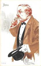 C3703) FUMO, SIGARO AVANA, ILLUSTRATORE ALEARDO TERZI.