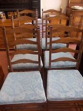 ERCOL LADDERBACK DINING CHAIRS
