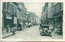 CP 02 Aisne - Guise - Rue Camille-Desmoulins n&b