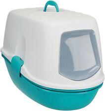 Katzentoilette Berto Top mit Haube und Trennsystem Reinigungssieb Katzenklo