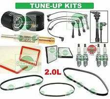 TUNE UP KITS 02-08 ELANTRA TIBURON: SPARK PLUGS, WIRE SET, BELTS & FILTERS