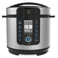 Pressure King Pro 6L 1000W 20-in-1 Electric Pressure Cooker - Chrome