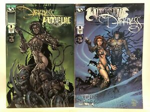 Darkness/Witchblade & witchblade/darkness Set VF+ 1st Print Image Top Cow Comics