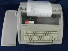 Brother Gx 6750 Gray Electronic Dictionary Portable Typewriter Testedworking