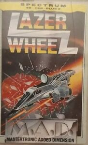 Lazer Wheel ZX Spectrum Computer Video Game Cassette.1987 Mastertronic IS 0163.