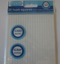 Stick it! 3D Foam Adhesive Double Sided Small Squares   -  940PCS