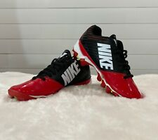 Nike Vapor Shark Youth Cleats Red / Black Very Good Condition