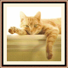 Ginger Cat, Cross Stitch Kit