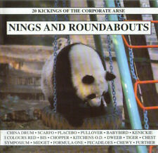 """(33) """"Nings And Roundabouts""""- Uk Fierce Panda Cd 1999-Placebo/3 Colours Red-New"""