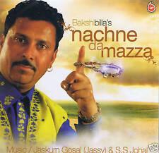 BAKSHI BILLA'S - (BAKSHI BILLA) NACHNE DA MAZZA - UK BHANGRA CD  - FREE UK POST