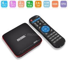 MECOOL M8S PRO W 2Go+16Go Android 7.1 TV BOX S905W Quad Core 4K WiFi HD 3D Media