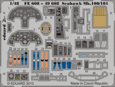 Eduard Zoom FE608 1/48 HAWKER SEAHAWK Mk.100/Mk.101 Trombettista