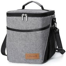 9L Portable Insulated Lunch Bag Box For Work Office School Adult Men Women Kids