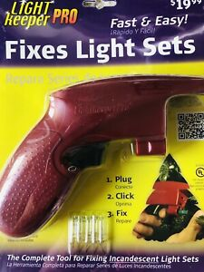 Light Keeper Pro Gun Fixes Incandescent Light Sets