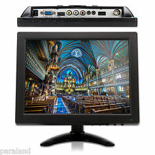 10 Inch TFT Color LCD Monitor Screen AV VGA BNC HDMI For PC CCTV Security Cam