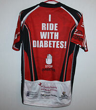 American Diabetes Association Red Riders cycling jersey Size S