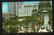 Dominion (Dorchester) Square Postcard--Montreal, Quebec--mailed with U.S. stamp