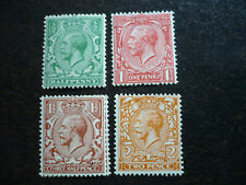 Stamps - Great Britain - Scott# 187-190