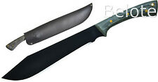 "Condor Tool & Knife BOOMSLANG 11"" Carbon Steel W/ Leather Sheath 60012"
