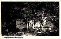 TIEFENBRONN STEINEGG Wald Kapelle Postkarte um 1950/60 ungelaufen alte s/w AK