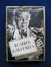 Rumblin Galleries by BOOTH TARKINGTON Story About an Ambitious Art Gallery Owner