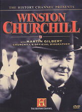 WINSTON CHURCHILL History Channel 2 DVDs Excellent OOP documentary Free Ship
