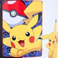 Pokemon Pikachu Plush Blanket Raschel Microfiber Throw 46x60 Twin GO PIKACHU