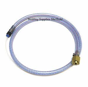 1M Hobby Mini Mig Gas Conversion Kit Welding Regulator 4mm Hose (G55)