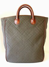 NWT NEW Vintage BOTTEGA VENETA Quilted XL BEACH TOTE SHOPPER BAG HANDBAG Italy