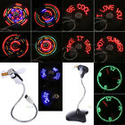 Flexible LED Clock Mini Power USB Fan Gooseneck For Home Office PC Notebook Car