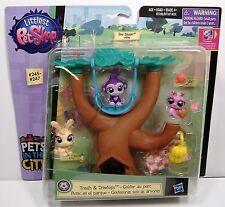 Treats & Treetops Littlest Petshop Pets in the City LPS Hasbro MOSC 245-247 2015