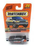Matchbox MBX Superfast 1999 No 71 1970 Pontiac GTO schwarz USA exlusiv Modell