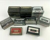 35 Cassette Tapes Pre-recorded Selling as Blanks Various Brands See Description