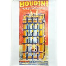 """20"""" x 30"""" Houdini Wall Poster Water Torture Cell Magician Magic History Gift Art"""