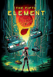 The Fifth Element Movie Silk Poster Art Print Wall Home Decor