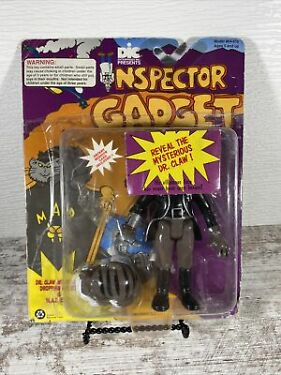 Inspector Gadget 1992 MAD Leader Dr Claw With Cat Action Figure Tiger Toys