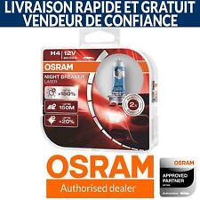 OSRAM Night Breaker Laser (Next Generation) +150% H4 Ampoules de voiture (Paire)