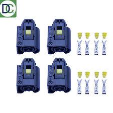 4 x Mercedes C-Class Genuine Injecteur Diesel Prise Connecteur Bosch Rail Commun